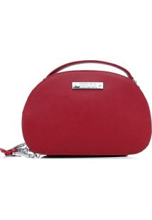 Bolsa Santa Lolla Tassel Vermelha - Vermelho - Feminino - Dafiti