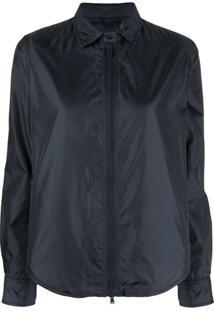 Aspesi Zipped Shirt Jacket - Azul