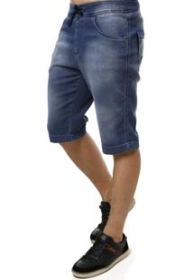 Bermuda Jeans Razon Moletom Masculina - Masculino