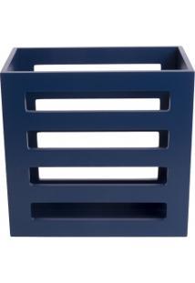 Porta Revista Bourbon - Azul
