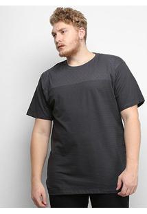 Camiseta Gajang Estampada Plus Size Masculina - Masculino