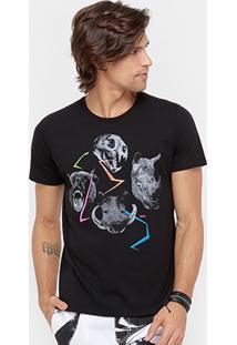 Camiseta Colcci Head Animals Masculina - Masculino