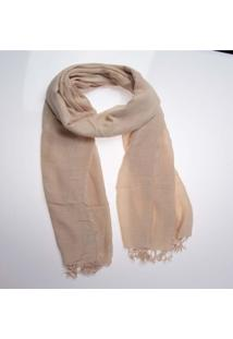 Xale - Pashmina- Visc Lisa Color- Nude
