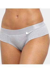 Calcinha Liz Hot Panty-80641 - Feminino-Cinza