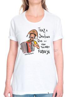 Traz A Sanfona - Camiseta Basicona Unissex