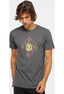 Camiseta Element Stamp Masculina - Masculino