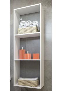 Nicho Para Banheiro Multimã³Veis Branco - Branco/Incolor - Dafiti