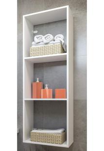 Nicho Para Banheiro Multimã³Veis Branco - Incolor - Dafiti