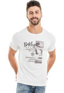 Camiseta Brkly Branco