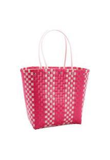 Bolsa Feminina Chenson Praia De Ombro Pink 3182300