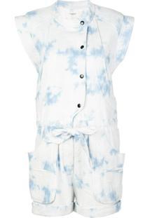 Isabel Marant Étoile Macaquinho Com Estampa Tie-Dye - Azul