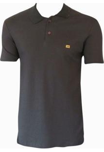 Camiseta Polo Especial Sueding Hb - Masculino