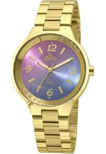 Relógio Allora Feminino Candy Colors Al2035Fhs/4G - Al2035Fhs/4G - Feminino-Dourado