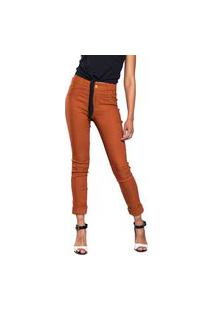 Calça Jeans Aero Jeans Skinny Caramelo