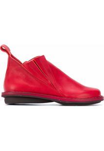 Trippen Ankle Boot Kinky Waw - Vermelho