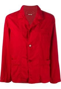 Comme Des Garçons Girl Single-Breasted Shirt Jacket - Vermelho