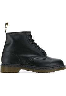Dr. Martens Leather Ankle Boots - Preto