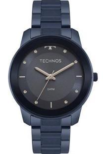 Relógio Technos Feminino Trend - Feminino-Azul
