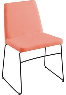 Cadeira Paris Linho Coral