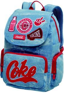 Bolsa De Costas Coca-Cola Team Spirit - Feminino-Azul