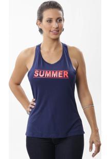 Regata Nadador Feminina Estampada-246165
