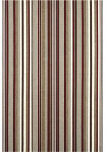 Tapete Metrópole Listra Retangular Rústico (150X200 Cm) Marrom