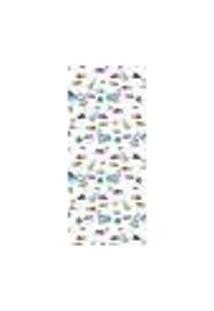 Adesivo Decorativo De Porta - Espaço - Infantil - 1372Cnpt