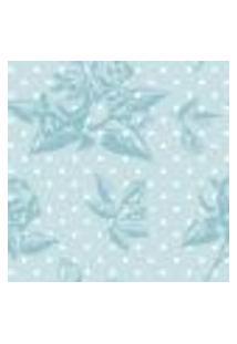 Papel De Parede Autocolante Rolo 0,58 X 3M - Flores Bolinhas 4716963