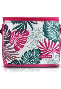 Bolsa Térmica Jacki Design Tropicália Rosa - Tricae