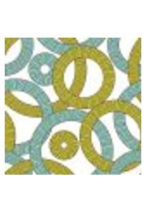 Papel De Parede Adesivo - Anéis - 100Ppa