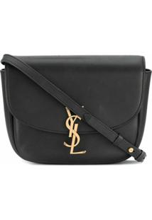 Saint Laurent Kaia Shoulder Bag - Preto
