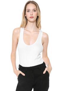 Regata Calvin Klein Jeans Canelada Branca
