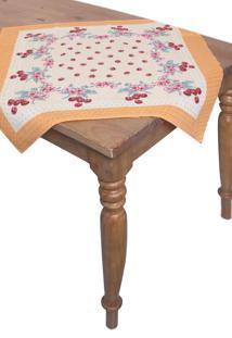 Toalha De Mesa Quadrada Lepper Decorativo Cintia 75 Cm X 75 Cm