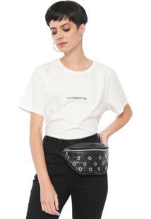 Camiseta Colcci Trendsetter Branca