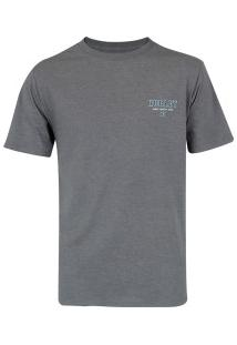 Camiseta Hurley Silk Rocker - Masculina - Cinza