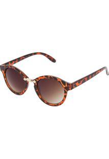 ... Óculos De Sol Dafiti Accessories Redondo Caramelo d4193761ea