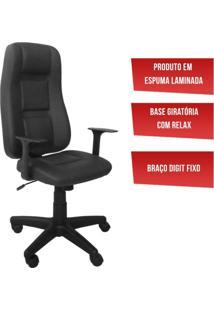 Conjunto Mesa Gamer Pro 5 Nichos E Cadeira Gamer Onix Presidente Siena Móveis Preto