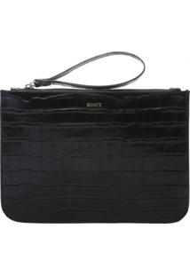 Clutch Bright Croco Schutz S500100042
