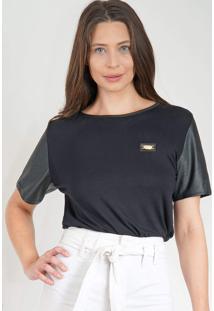 Camiseta Lança Perfume Básica Preto - Kanui