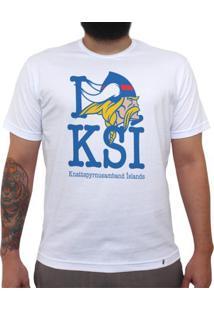 Ksi - Camiseta Clássica Masculina