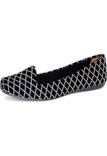 Slippper Infinity Shoes Bico Quadrado Preto