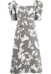 Three Floor Vestido Marisa Com Decote Quadrado - Branco