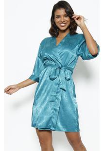 Robe Curto Com Amarração- Verdefruit De La Passion