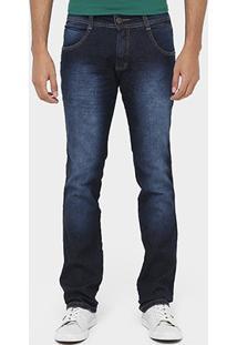 Calça Jeans Biotipo Skinny Super Escura Stone - Masculino