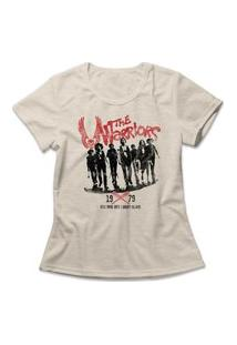 Camiseta Feminina The Warriors Bege