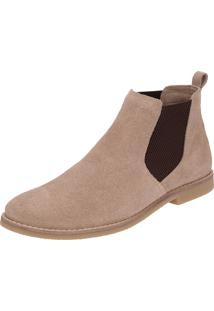 Botina Chelsea Boots Sir.W Original Areia C/Elastico Cafe 502