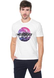 Camiseta Wrangler Cerrado Branca