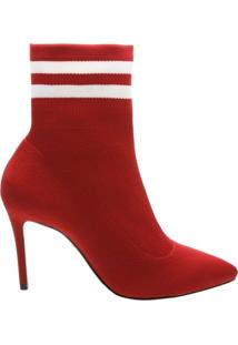 Pré Venda Ankle Sock Booties Red | Schutz