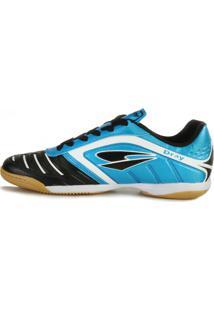 Tênis Futsal Dray Dr18-363Co Azul Celeste-Preto