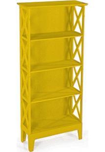 Cristaleira Colonial 2 Portas Atz 81 - Amarela